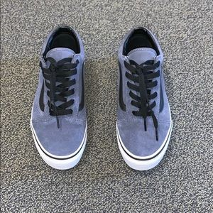 New Navy and Black Old Sokol Lace Up Vans